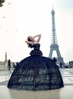 Stunner! Paris ~ Dress ~ Black Swan ~ Landscape ~ Ballerina