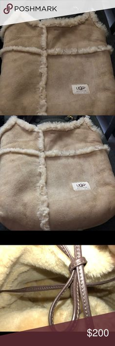 Ugg Large Shoulder Bag Ugg Large Shoulder Bag - gently loved and restored UGG Bags Shoulder Bags
