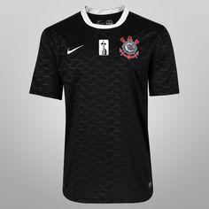 b1d0bacbc5 Camisa Nike Corinthians II 12 13 s nº - Campeão Libertadores 2012 -  Shoptimão
