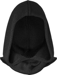 Musterbrand Assassin's Creed Hooded Scarf Lancaster Knit Wool Scoodie Black One size Apocalyptic Fashion, Tactical Clothing, Cool Masks, Cyberpunk Fashion, Hooded Scarf, Character Outfits, Assassins Creed, Fashion Face Mask, Lancaster