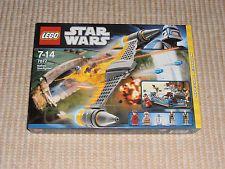 LEGO Star Wars 7877 Naboo Starfighter NEU OVP ungeöffnet Lego For Sale, Lego Star Wars, Lunch Box, Stars, Bento Box, Sterne, Star