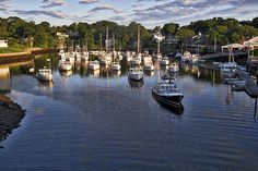 Title  Lobster Boats - Perkins Cove - Maine   Artist  Steven Ralser   Medium  Photograph - Photography
