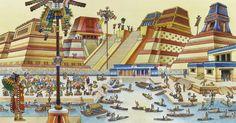 Description of Tenochtitlan - Bing Images