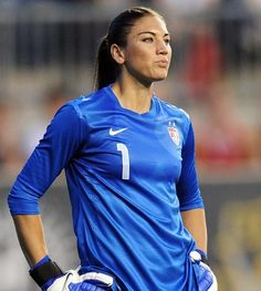 Hope Solo, soccer ( Getty Images / July 11, 2012 ). More female Olympic athletes: http://www.redeyechicago.com/sports/redeye-hot-olympics-women-20120725,0,3071119.photogallery
