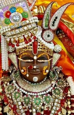 God images: Shreeji sangar darshan photo Lord Krishna Images, Krishna Photos, Lord Jagannath, Krishna Hindu, Goddess Lakshmi, Lord Vishnu, Indian Gods, Gods And Goddesses, My Arts