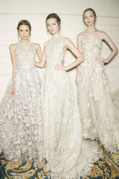 Backstage at Valentino Haute Couture Spring 2013.