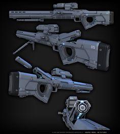 Star Citizen FPS  Sniper Rifle, Ze'ev Harris on ArtStation at https://artstation.com/artwork/sniper-rifle-eab6c119-d28a-46f9-883c-69a53a6020b8