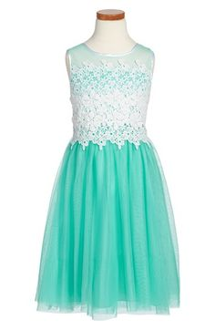 Dorissa 'Lara' Sleeveless Tulle Dress (Big Girls) available at #Nordstrom