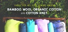 Nature's Fabrics-All Natural and Organic Fabrics: Your Source for Bamboo Fabric by the Yard and Diaper Sewing Supplies Quality organic and natural fabric