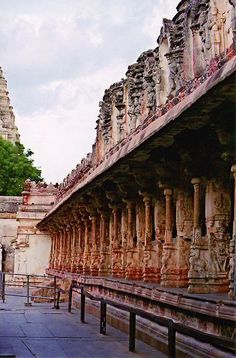 Virupaksha temple in Hampi, Karnataka state, India