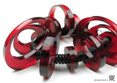 BUBBLE_bracelet_MADE IN ITALY_design / manufacture: James di Marco_material: methacrylate plastic