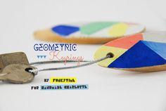 DIY Geometric Keyrings | Handmade Charlotte