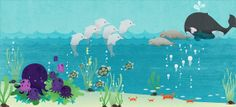 Under The Sea Party Print by Acopladitos on Etsy, $40.00