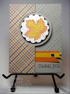 Aug 20 2013  stampwithkriss: magnificent maple, thinlits card dies