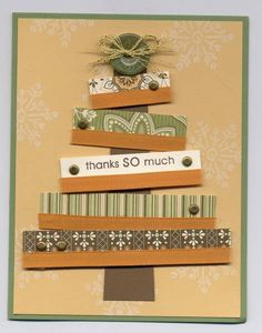 Christmas Thank You by lvogt - Cards and Paper Crafts at Splitcoaststampers