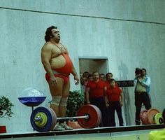 Olympische Momente 1936-2008 | Wassili Iwanowitsch Alexejew | BRASH Deutschland
