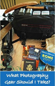 """What photography gear should I pack when I'm traveling? Today Christina Dickson answers this question. Image by Dean Forbes. It's your first trip out of the country as a real """"photographer"""". Your clothing is packed. Your suitcase is at the door. Now there's only one question: What photography gear do you bring? In 3 days …"""