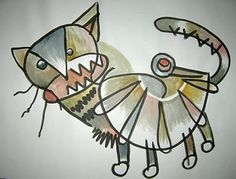 wicked cat by william hessian
