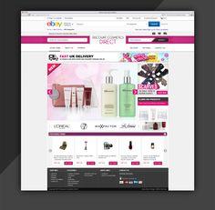 Appealing Custom ebay Store Design for Discount Cosmetic store  http://www.estore-services.com/ebay-store-designs.html