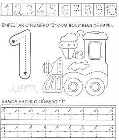 úmeros          Algumas atividades para treinar os números de 1 a 10.