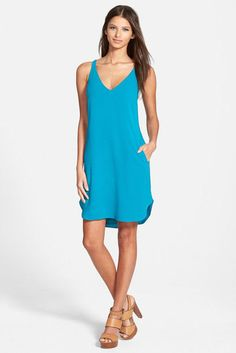 NWT! Wayf V-Neck Shift Dress | SZ XS | A077 #Wayf #Casual
