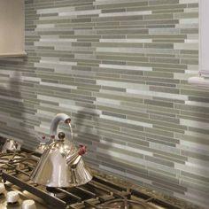 Gorgeous, Inspirational Kitchen Backsplashes [30 Pictures]: Glass Kitchen…