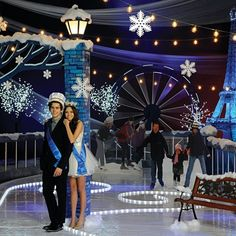 Winter in Paris Complete Theme – Enjoy a Paris destination Prom with a frosted twist of scenery guaranteed to melt hearts in the city of love.  Lighted Eiffel Tower is breathtaking!  Shop our Prom Store for Prom Ideas and Prom Supplies today!