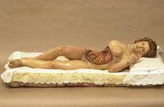 19th C Anatomical Venus, Unknown Modeller and Workshop, Museu d'Història de la Medicina de Catalunya
