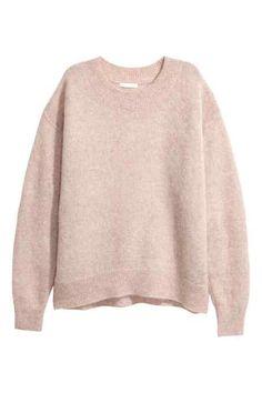 Loose-knit jumper
