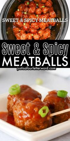 Delicious sweet and spicy meatballs are a great appetizer but they make a great meal too! They are made with honey, Sriracha, soy sauce and a few other items and slow cooked to make the tastiest meatballs that will melt in your mouth. Serve as an appetizer or with green beans over rice and top with green onions for hearty dinner with a kick!