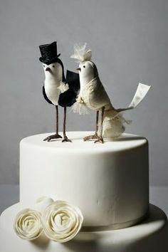 Robot Wedding Cake Topper by Jtnee on Etsy   Mom!   Pinterest ...