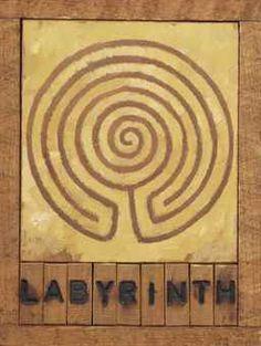 Labyrinth, Gortyn Joe Tilson (b.1928)