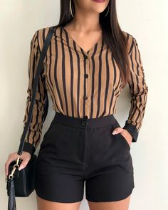 Pin by Haley Joiner on My Style Business Casual Outfits, Cute Casual Outfits, Short Outfits, Stylish Outfits, Cute Fashion, Trendy Fashion, Fashion Outfits, Womens Fashion, Style Fashion