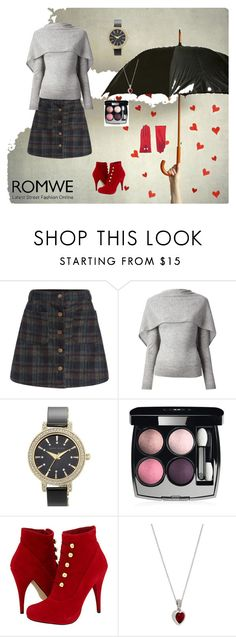 """A Line Skirt"" by lovelysandy5 ❤ liked on Polyvore featuring Roland Mouret, Anne Klein, Chanel, Steve Madden, Cachet London and Ted Baker"