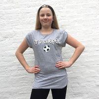 I'm a Keeper! soccer t-shirt