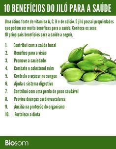 Apesar de muitas pessoas não serem fãs do jiló, é importante envolvê-lo no cardápio. O jiló é uma ótima fonte de vitamina A, C, B e de cálcio.