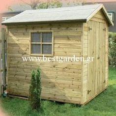Ξύλινες αποθήκες , γκαράζ , μπαούλα , σκυλόσπιτα Wooden House, Shed, Outdoor Structures, Barns, Sheds