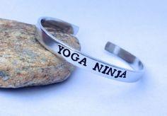 #Yoga #Ninja Cuff #Bracelet by BlissfulBirdDesigns on Etsy, $16.95 #jewelry #accessories #blissfulbird