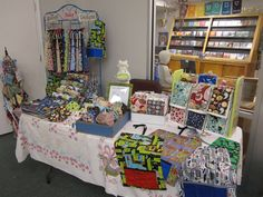 Now that I've officially sold at my first craft fair ever, I thought I'd share with you all what I learned from setting up my own booth, loo...