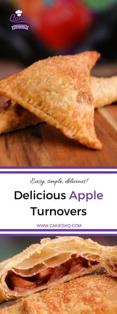 An easy apple turnovers recipe. Make these apple turnovers in advance and heat them up before serving or serve them cold. An easy apple turnovers recipe. Make these apple turnovers in advance and heat them up before serving or serve them cold. Dutch Recipes, Apple Recipes, Sweet Recipes, New Recipes, Baking Recipes, Dessert Recipes, Favorite Recipes, Desserts, Easy Recipes