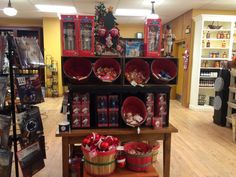 Christmas items, The Old Farmer's Almanac General Store.