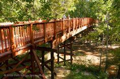 Timber Trail Bridges:  Tunica-Biloxi Nature Trail - Marksville, LA