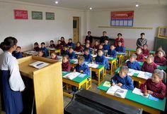 함북도 북부피해지역의 학교들에서 개학식 진행-《조선의 오늘》