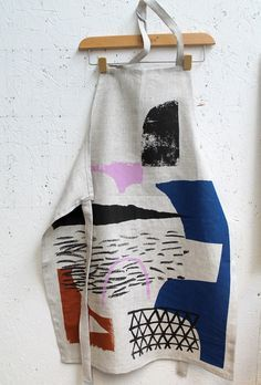 'Assemble/Configure' Apron by Laura Slater