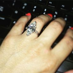 engagement ring mounts only marquise cut
