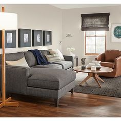 Harrison Sofa with Chaise Room - Living - Room & Board
