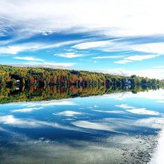 Mirrors of natural perfection can often be discovered around Pure Michigan. Instagrammer @andtruetoo shared this beautiful shot from Portage Lake in Houghton. Thanks for sharing! #PureMichigan #UpperPeninsula #Houghton