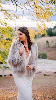 Wedding Looks, Fur Coat, Bright, Jackets, Fashion, Down Jackets, Moda, Fashion Styles, Fashion Illustrations
