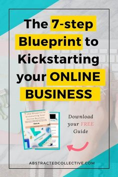 Feeling lost and confused in starting your online business? Here is the 7-step Blueprint I've designed just for you. Follow it and you'd be on your way to kickstarting your online business!