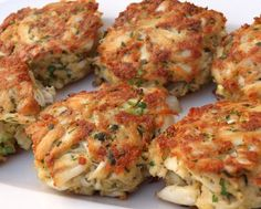 Maryland Crab Cakes- this is a killer recipe. Made it with a spicy mayo sauce instead of the tartar and it ruled the world.